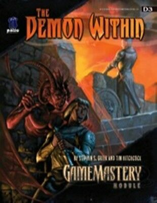GameMastery Module D3: The Demon Within  (OGL) NEW Price Inc Delivery in UK
