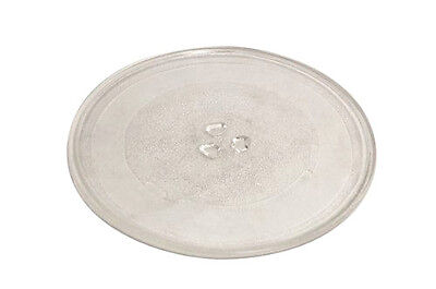 Universal Microwave Oven Glass Turntable Glass Plate 255Mm With 3 Fixers  34069