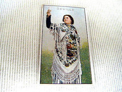 "1 Card (Seville) From B.a.t. ""girls Of All Nations"" - 1908"