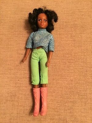 Vintage 1970s Hasbro/Matchbox Disco Girls 2nd Issue Domino Doll