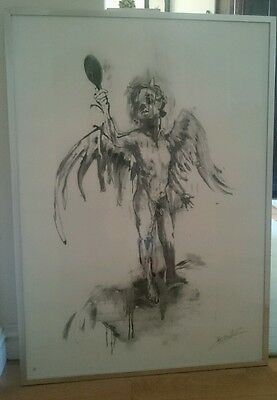 Antony micallef God I Want to be Bad limited edition print signed and numbered