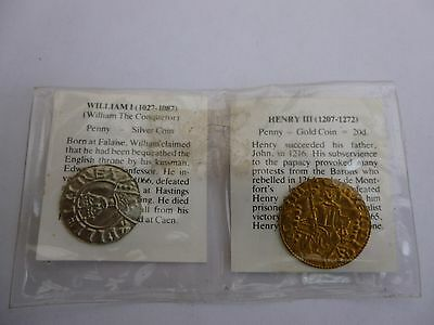 Reproduction Medieval Coins