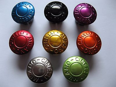 Cinelli Milano - Handlebar End Plugs in nice colors. Sell by piece !