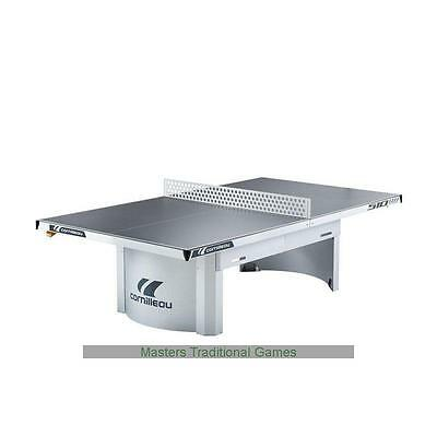 Cornilleau Proline 510M Outdoor Static Table Tennis Table - Grey