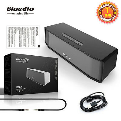 Bluedio BS-2 Wireless Bluetooth Stereo Speaker Portable for Universal SmartPhone