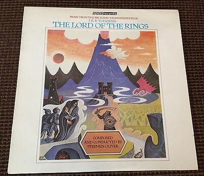 THE LORD OF THE RINGS LP BBC RECORDS Stephen Oliver