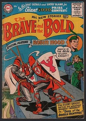 Brave and the Bold #7 G+ 2.5 Off White Pages