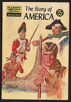 Classics Illustrated Special Edition #132A VG+ 4.5 OW/W The Story of America