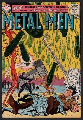 Metal Men #1 VG+ 4.5 Cream to Off White Pages