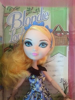 Ever After High Blonde Lockes Doll Brand New