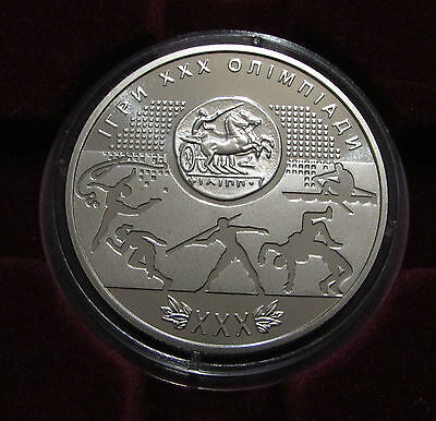 Ukraine 2 UAH 2012 year coin GAMES OF THE XXX OLYMPIAD