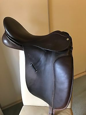 Brown Trainers Jessica DS Show Dressage Saddle