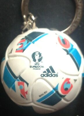 Euro 2016 Final Matchball Keyring England Wales Northern Ireland Spain Italy
