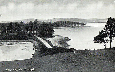 MULROY BAY CO. DONEGAL IRELAND IRISH POSTCARD by S.R. BUTLER POSTED SEPT 1946