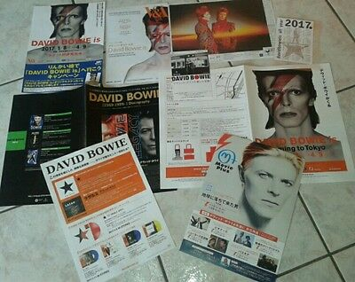 David Bowie is Special Flyer kit Japan 2017
