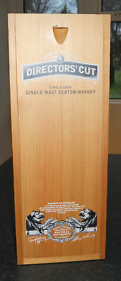 Director's Cut Whisky Bottle