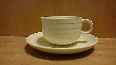 HORNSEA POTTERY ENGLAND CONCEPT CUP AND SAUCER. Vintage Retro Collectable.
