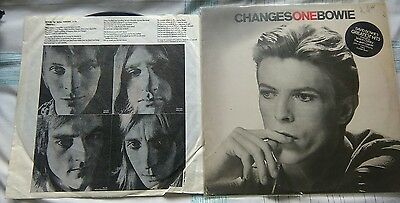 "David Bowie - Changesonebowie. 12"" Vinyl LP in Excellent Condition."
