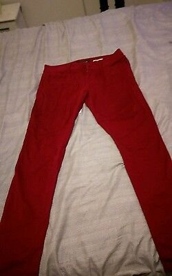 Lovesick Red Jeans size 11