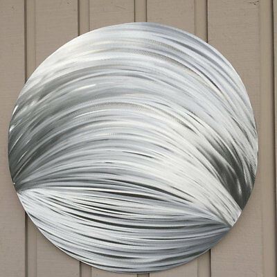 Silver Metal Wall art  Sculpture Abstract Home decor by Holly Lentz