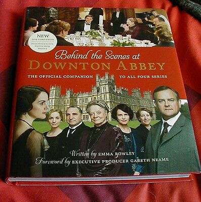 Behind The Scenes at Downton Abbey -BOOK