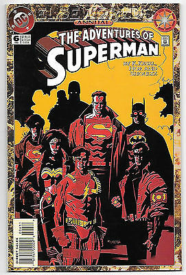 Adventures of Superman Annual #6 (1994 vf+ 8.5) 64 all-new pages