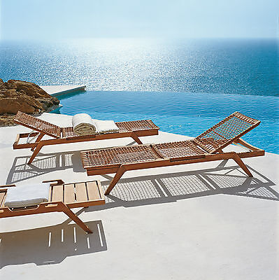 Tempotest Acrylic Off White Cushion, for Synthesis Sun Lounger, by Unopiu Italy
