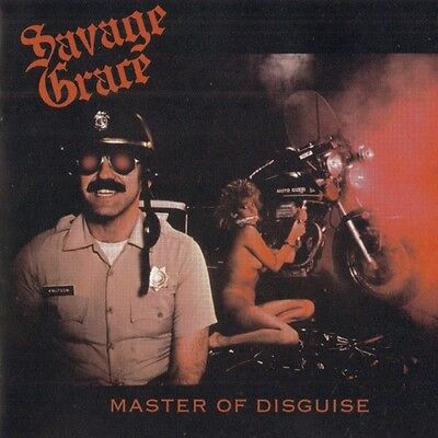33 LP Savage Grace Master Of Disguise Important Record Distributors,IRD 004 US