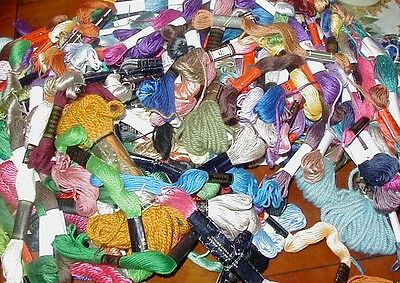 Job lot of embroidery thread  - over 200 skeins !