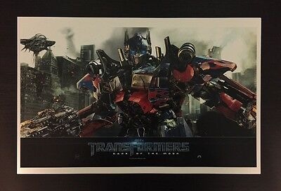 Transformers Optimus Prime Color Print RI Comic Con Exclusive