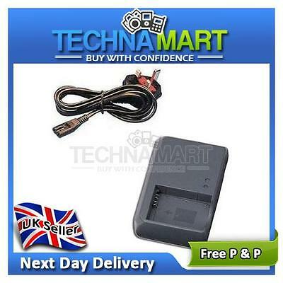 Mains Battery Charger CB-2LZE for Canon Powershot G10 G11 G12 SX30 IS Cameras UK