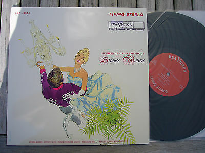 Strauss Waltzes - Reiner - Cso - Rca Lsc 2500 - Classic Records - Audiophile