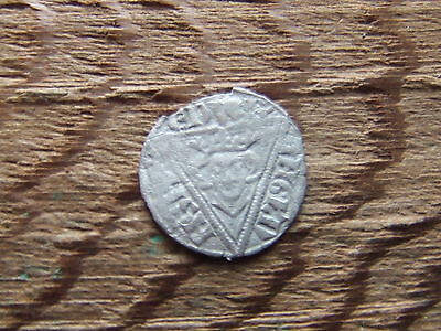 IRELAND.  EDWARD 1st  1272-1397. SILVER HALFPENNY.   RARE.   A SUPERB EXAMPLE.