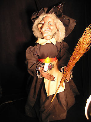 Halloween Witch Vintage Animated Telco Motion-ettes in Original Box