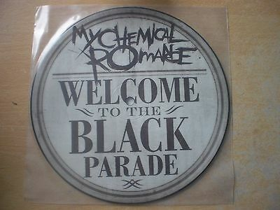 """My Chemical Romance - Welcome to the Black Parade 7"""" Picture Disc vinyl record"""