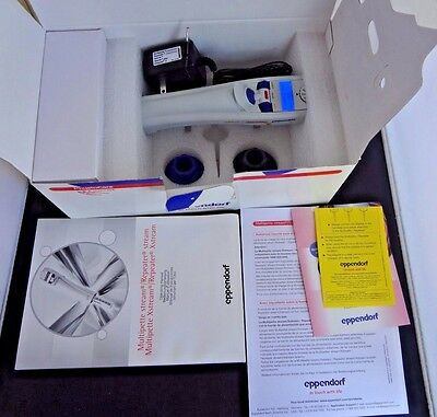 Eppendorf Repeater Stream Electronic Pipette 1uL to 50mL W/ Charger