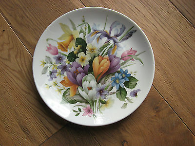 Kaiser Germany Wall Hanging Plate Floral AK
