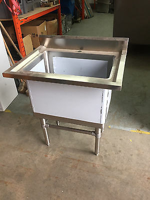 Stainless Steel Single Pot Wash Catering Sink - SLIGHTLY DENTED CLEARANCE