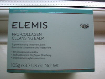 ELEMIS Pro-Collagen cleansing balm 105g Boxed With  Cloth RRP £40.B NEW