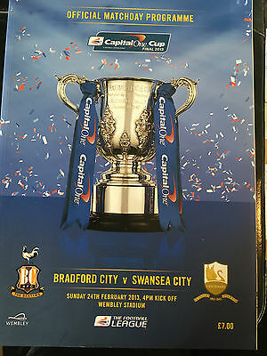 2013 Capital One Cup Final Programme