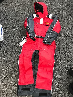Baltic One Piece Insulated Suit Winter Fishing Floatation Suit - Cost £200