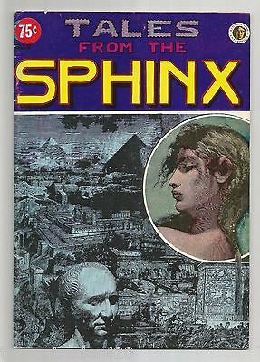 TALES FROM THE SPHINX #2 1972 1st PRINT UNDERGROUND COMIX Comic Book