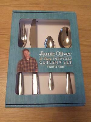 Jamie Oliver 32 Piece Every Day Cutlery Set - Polished Finish