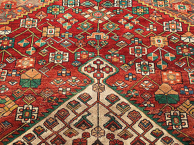6x10 HAND KNOTTED WOVEN RUG PERSIAN HERIZ MADE IRAN WOOL AREA 6 x 10 rugs 7 9 8