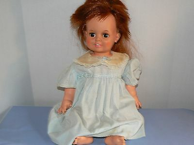 """Vintage Ideal doll Baby Crissy hair growing doll 1973 24"""" Chrissy marks on skin"""