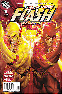 Flash 8 - Variant Cover (Modern Age 2011) - 9.2