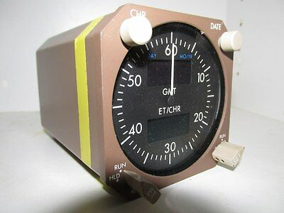 Boeing 747-400 Digital Electronic Chronometer/Clock  *As Removed*