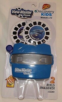 Discovery Kids View-Master with 2 Marine Life 3D Reels Included Free S & H
