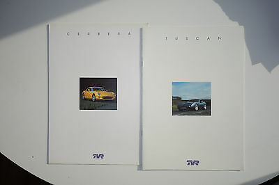 TVR Cerbera and Tuscan Brochures