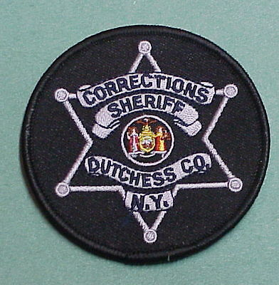 Dutchess County  New York  Ny  Corrections  Sheriff / Police Patch Free Shipping